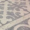 Terrazzo N�grob mit 6-8mm Carrara Splitt