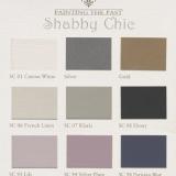 Farbübersicht Shabby Chic