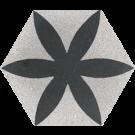 Sechseck Blume