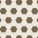 Hexagon mehrfarbig